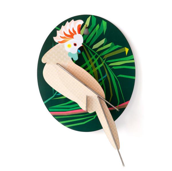 Wandschmuck Kakadu