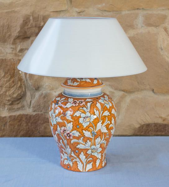 Tischlampe Orientale Arancio Potpourriform 52 cm