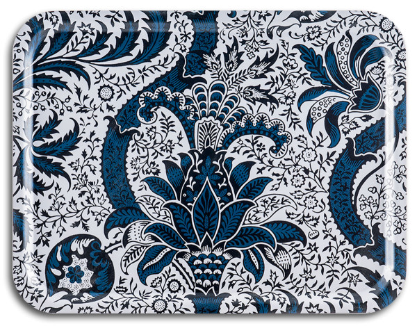 Tablett Indian Indigo William Morris 43 x 33 cm