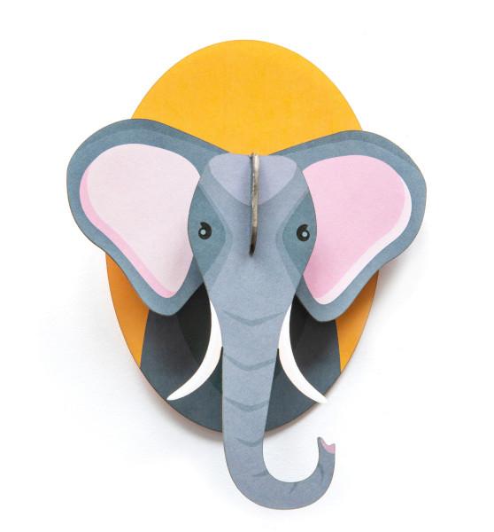 3D-Kinderzimmer-Wanddeko Elefant