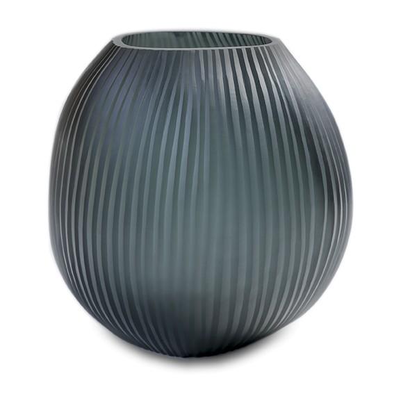 Mundgeblasene guaxs Vase Nagaa M Dark Indigo