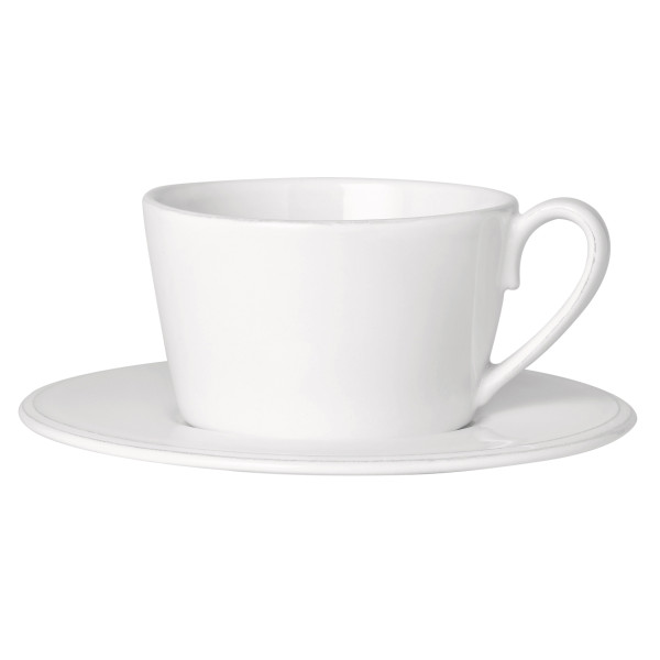 Côte Table Grosse Tasse mit Untertasse Constance 375 ml Altweiss