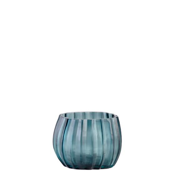 Guaxs-Vase-Manakara-tealight-oceanblue-indigo