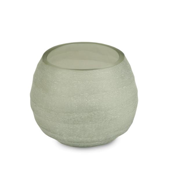 Teelicht, Vase Quilotta light steelgrey 8 cm