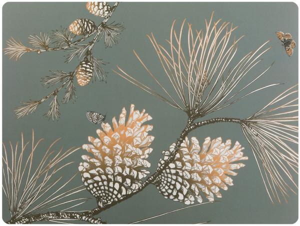 Tischset Pine Cone moosgrey 40x30cm