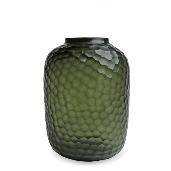 Guaxs Vase Bambola L 42 cm black steelgrey