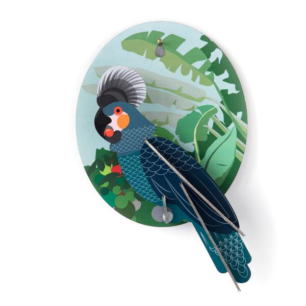 Wandschmuck Papagei