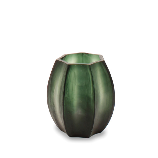 GUAXS Vase Koonam S light-Blacksteelgrey