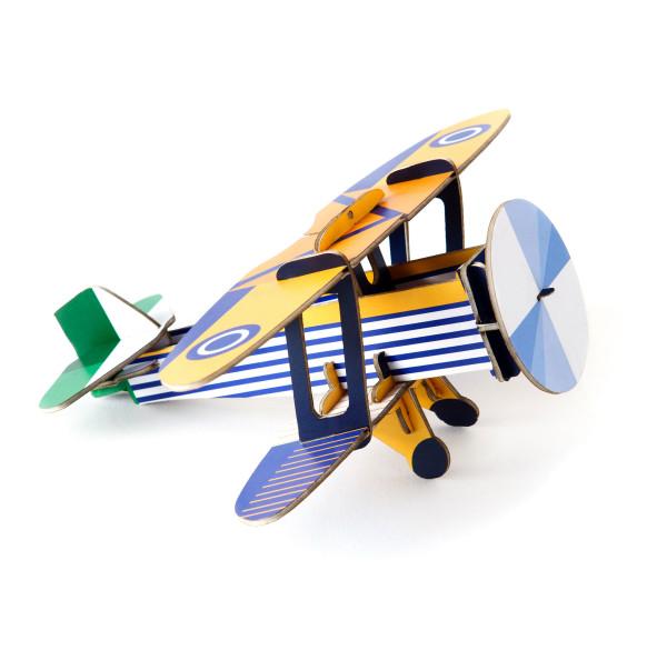 Klassisches Spiel-Flugzeug Doppeldecker