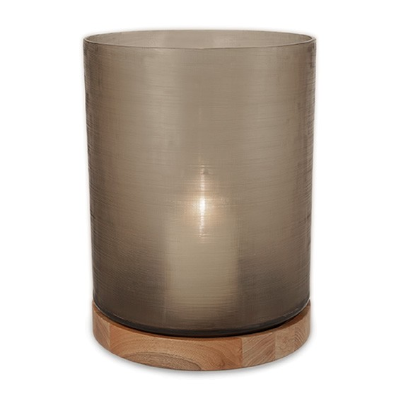 Guaxs-Windlicht-Lantern-Aran-L-smokegrey-walnut-5124GY