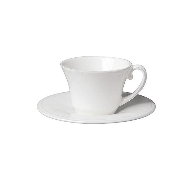 Côte Table Espressotasse mit Untertasse Constance 10 cl Altweiss