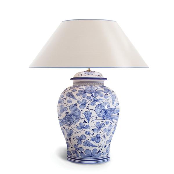 Tischleuchte Arabesco Blu