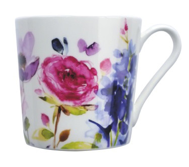 fine Bone China Porzellan Becher Taransay von bluebellgray