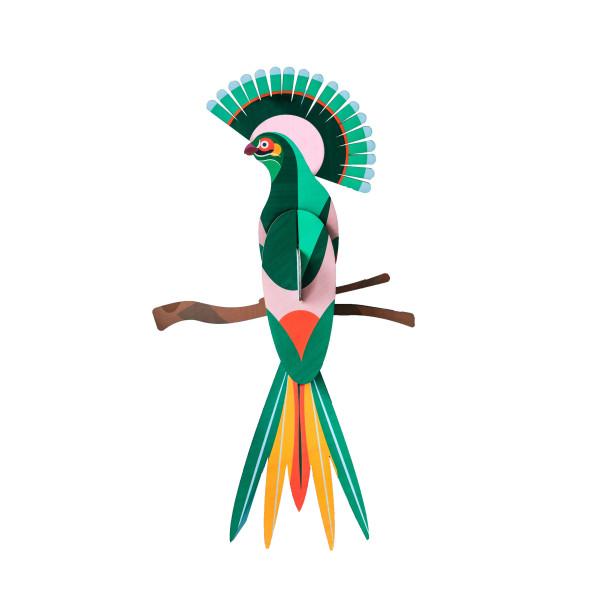 Wanddeko-Paradiesvogel-gili-guen-türkis