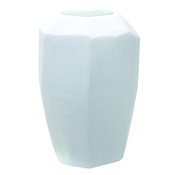 Guaxs Glas Vase Cubistic Tall opal
