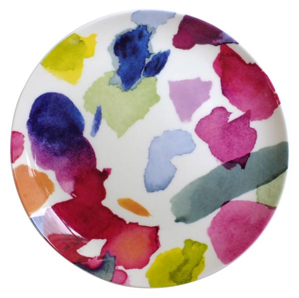 Fine Bone China Porzellan Geschirr Abstract Beilagenteller 19 cm